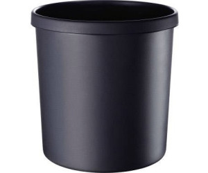18 Liter schwarz LEITZ Papierkorb Allura aus Kunststoff