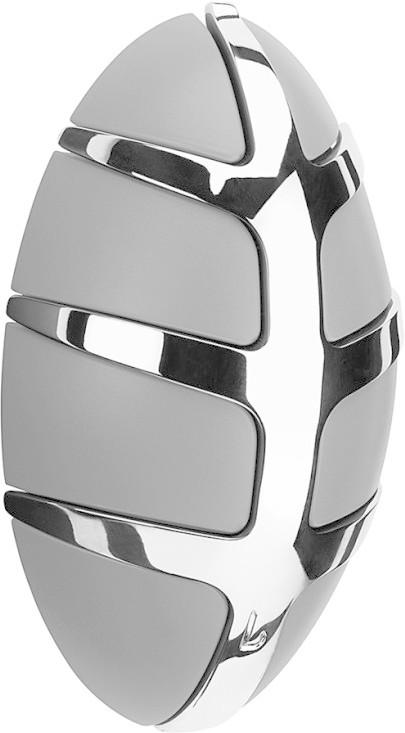 Spinder Design Bug Garderobe grau verchromt