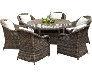clp stavanger gartengarnitur polyrattan ab preisvergleich bei. Black Bedroom Furniture Sets. Home Design Ideas