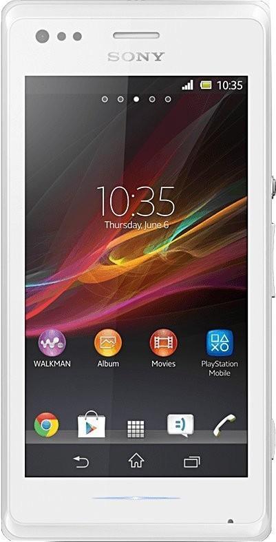 Sony Xperia M Dual Weiß