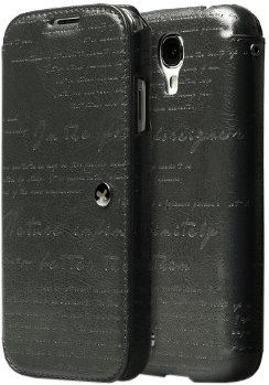 Zenus Lettering Diary dunkelgrau (Samsung Galax...