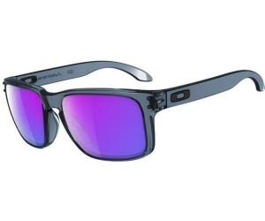 Oakley Holbrook Sonnenbrille - crystal black / violet iridium OO 9102 45 bMCj3A