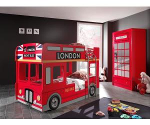 Etagenbett Autobus : Vipack etagenbett london bus ab u ac preisvergleich bei