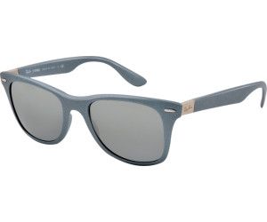 Ray-Ban Wayfarer Lightforce RB 4195 6017/88 Sonnenbrille in silver grey 52/20 jhw6NH17w3
