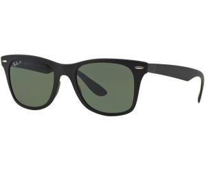 RAY BAN RAY-BAN Herren Sonnenbrille »WAYFARER LITEFORCE RB4195«, schwarz, 601S88 - schwarz/silber