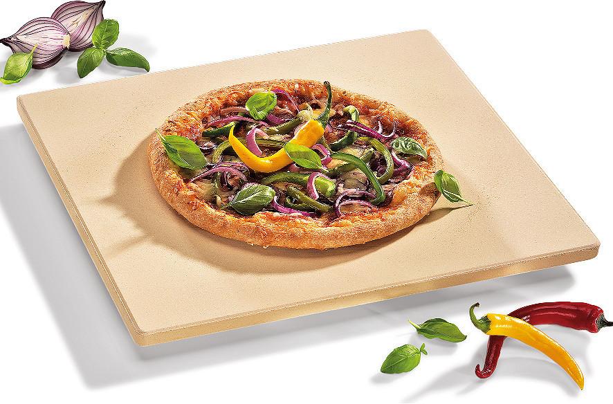 Küchenprofi Pizzastein 40 x 35,5 cm