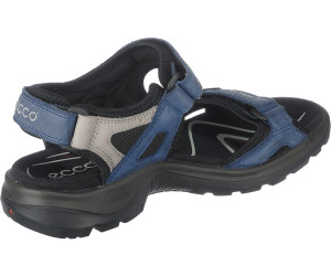 Ecco Offroad Yucatan Sandal Blau, Damen Sandale, Größe EU 37 - Farbe Medieval-Wild Dove Starbuck-Basa Damen Sandale, Medieval - Wild Dove Starbuck - Basa, Größe 37 - Blau