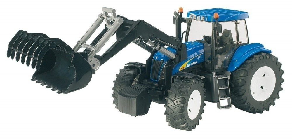 Bruder New Holland T8040 mit Frontlader (03021)