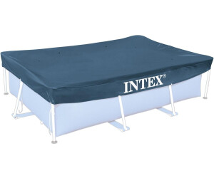intex abdeckplane frame pool 450 x 220 cm 28039 ab 9 99 preisvergleich bei. Black Bedroom Furniture Sets. Home Design Ideas