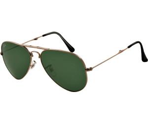 ray ban aviator schwarz grün