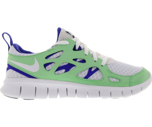 a33f0668ccec2 Nike Free Run 2.0 GS white poison green hyper blue black ab 75