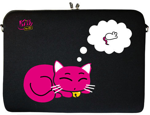 Image of Digittrade Notebook Sleeve 15,4 kitty to go (DG-LS143-15)