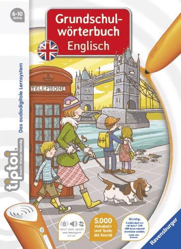 Ravensburger tiptoi - Grundschulwörterbuch Englisch