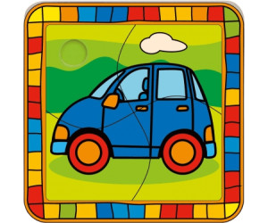 Bino Wooden Puzzle Car