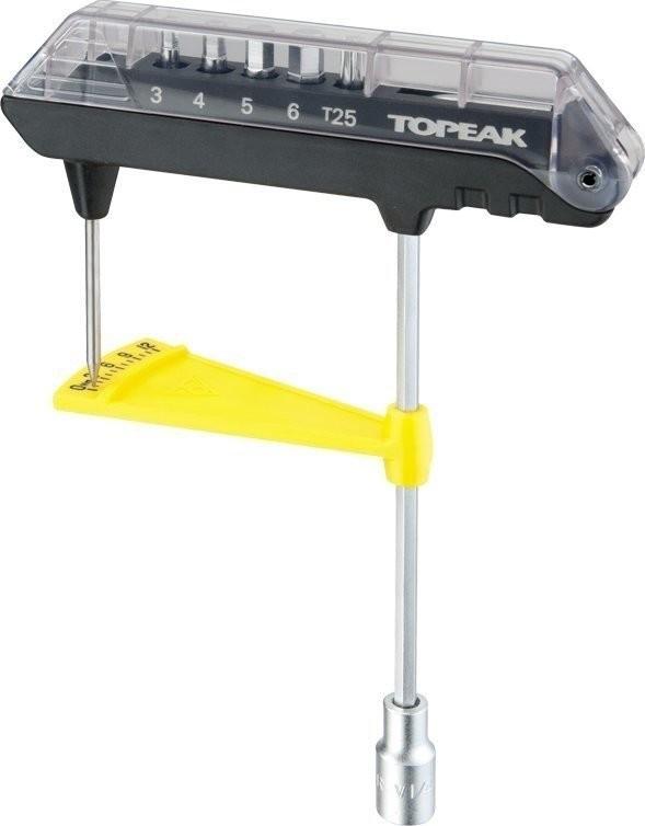 Topeak ComboTorq Wrench & Bit Set | Baumarkt > Werkzeug > Werkzeug-Sets