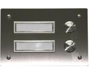 Schön Edelstahl-designprofi V2A Klingelplatte 2-Fach (KL0351) ab 28,08  SI64