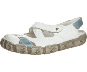 Rieker Schuhe Damen Ballerinas Sling Sandalen L0376 80, Schuhgröße:40 EU, Farbe:Weiß