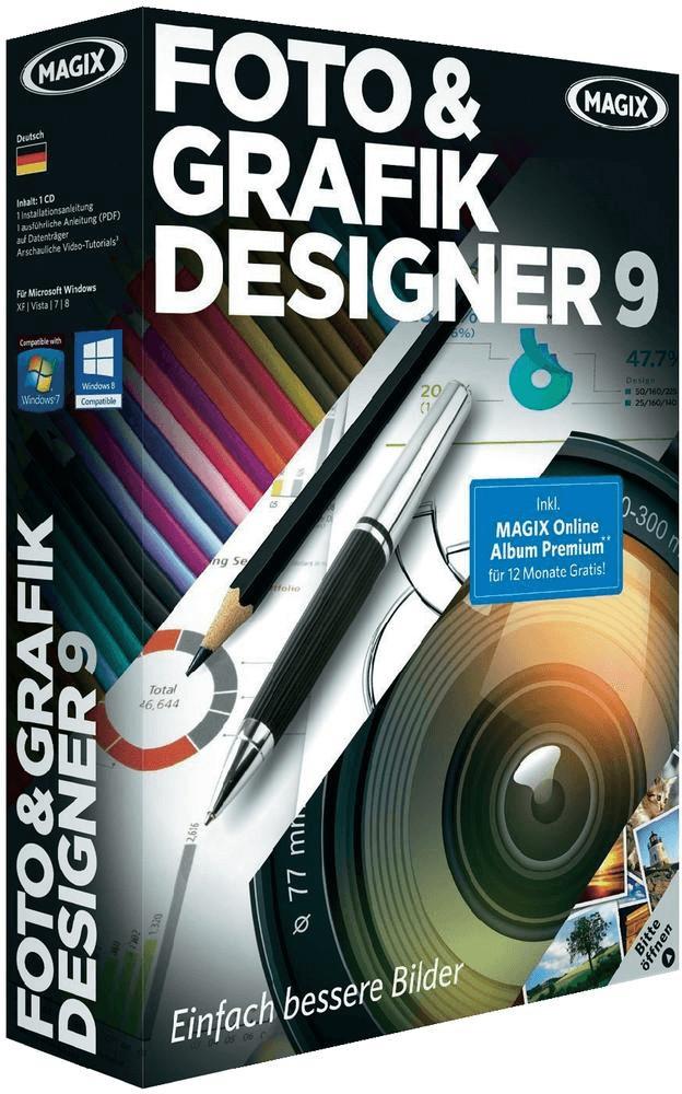 Magix Foto & Grafik Designer 9 (DE) (Win) (Box)