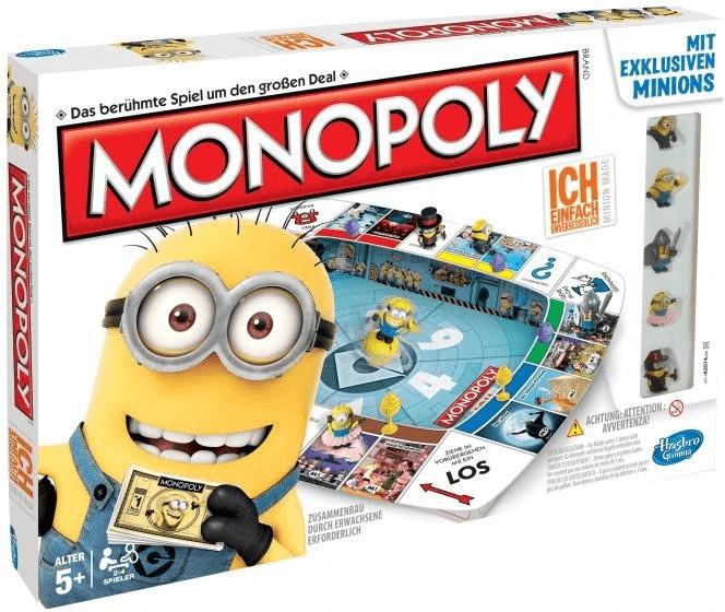 Hasbro Monopoly - Ich, einfach unverbesserlich 2