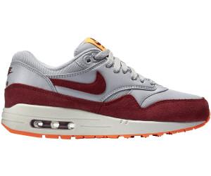 Nike Womens Shoes Air Max 1 Essential WhiteDark Grey