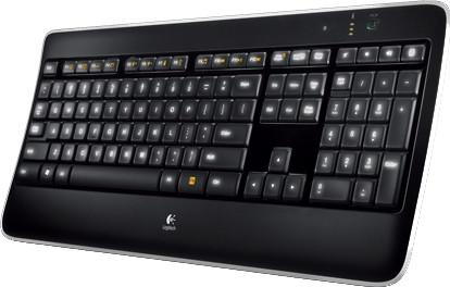 Logitech Wireless Illuminated Keyboard K800 PL