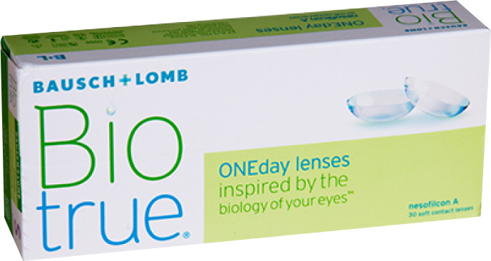 Bausch & Lomb Biotrue ONEday lenses 3.75 (30 unità)