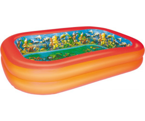 Bestway splash play 3d planschbecken 262 x 175 x 51 cm for Obi kinderplanschbecken