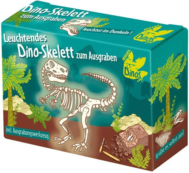 Moses Dino-Skelett zum Ausgraben