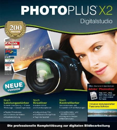 Serif PhotoPlus X2 Digital Studio (DE) (Win) (Box)