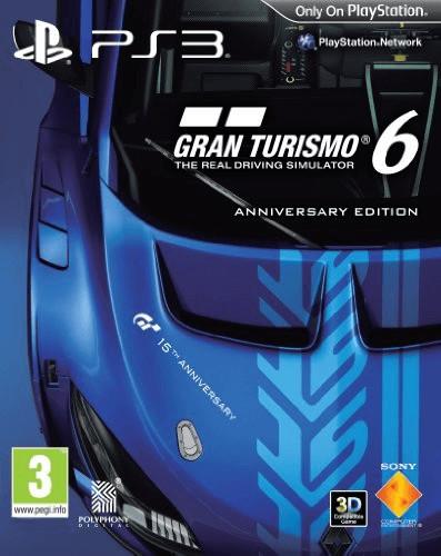 Gran Turismo 6: Anniversary Edition (PS3)
