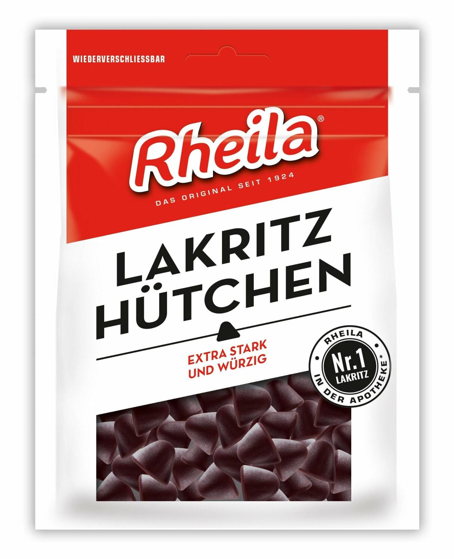 Soldan Rheila Lakritz Hütchen mit Zucker (90 g)