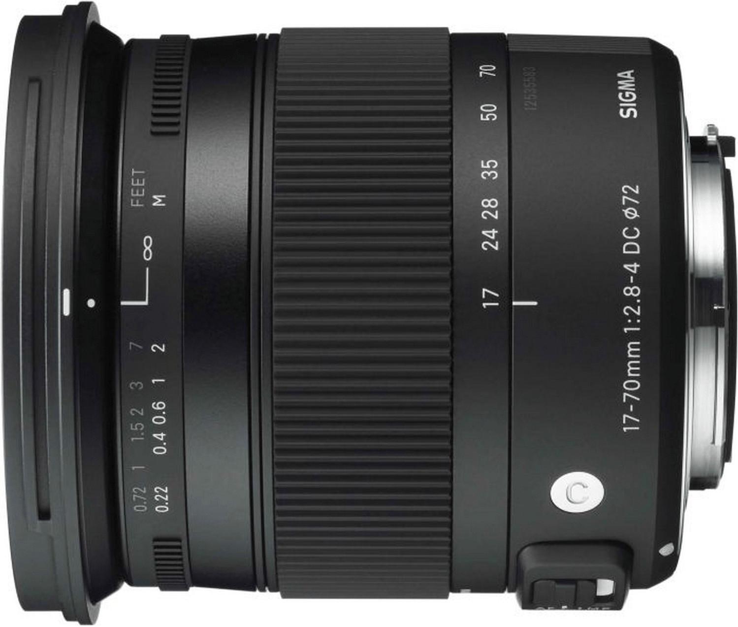 #Sigma 17-70mm f2.8-4 DC Macro OS HSM C [Nikon]#