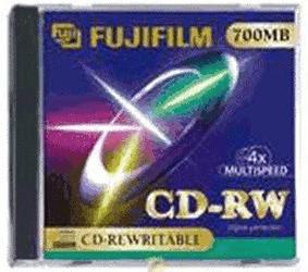 Fuji Magnetics CD-RW 700MB 80min 12x 10er Jewel...