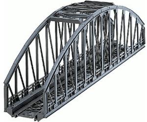 K Gleis Neu in OVP Märklin H0 7263 Bogenbrücke 36 cm Metallgeländer M