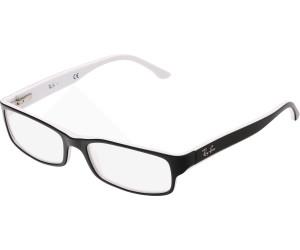 ray ban brille weiß schwarz