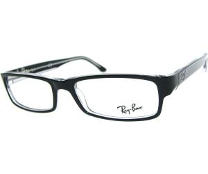 ray ban brille schwarz weiß