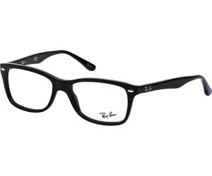 ray ban sehbrille schwarz weiß