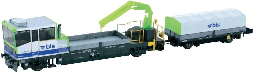 Hobbytrain Gleiskraftwagen mit Anhänger TM 235 ...