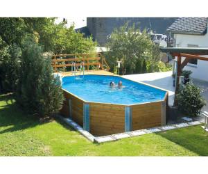 weka korfu ii pool sparset mit sandfilteranlage 850 x 376 x 116 cm ab. Black Bedroom Furniture Sets. Home Design Ideas