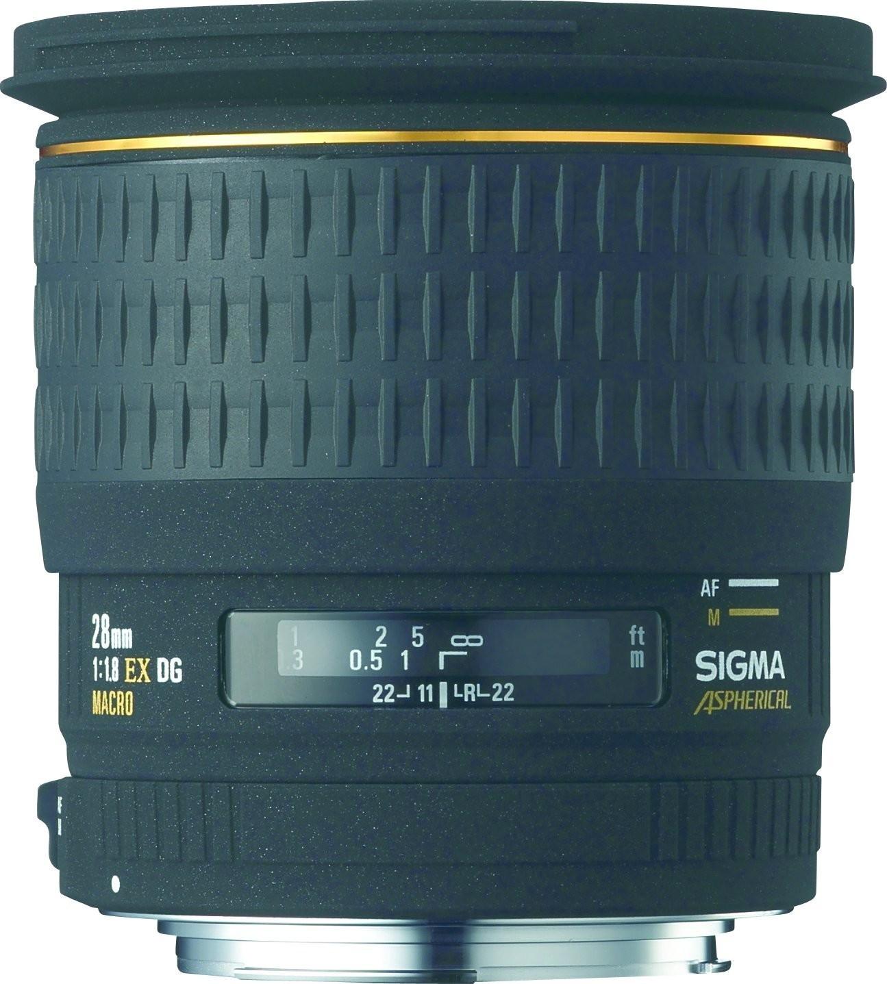 Sigma 28mm f1.8 EX DG Makro