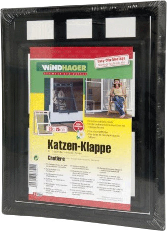 Windhager Katzen-Klappe für Insektenschutz-Türen