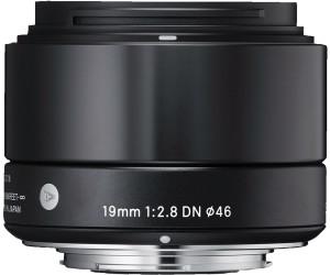Monture Sony Sigma Objectif 19 mm F2,8 DN