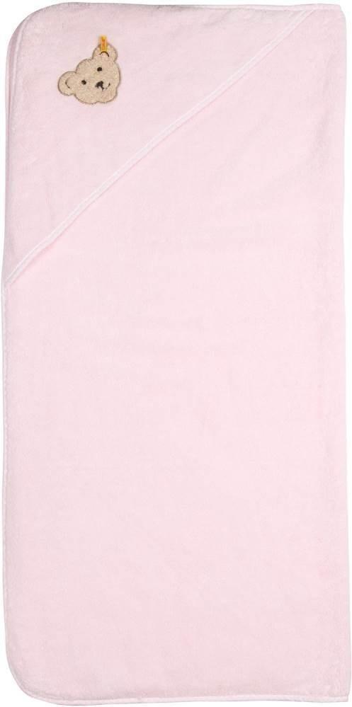 Steiff Badehandtuch quadratisch rosa