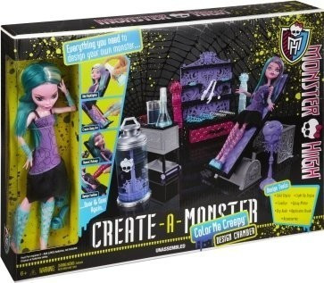 Monster High Create-A-Monster Designkammer