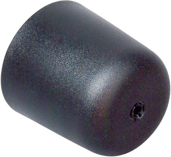 Kopp Kunststoff Deckenbaldachin, schwarz