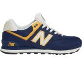 New Balance Ml 574 Sjk Sneaker Schwarz Rot