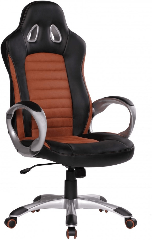 Amstyle Racer Chefsessel schwarz