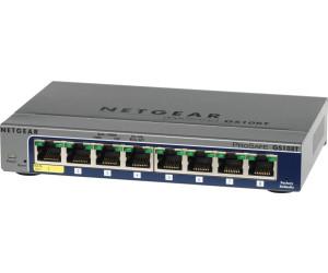 Netgear 8-Port Gigabit Switch (GS108Tv2) ab 59,45