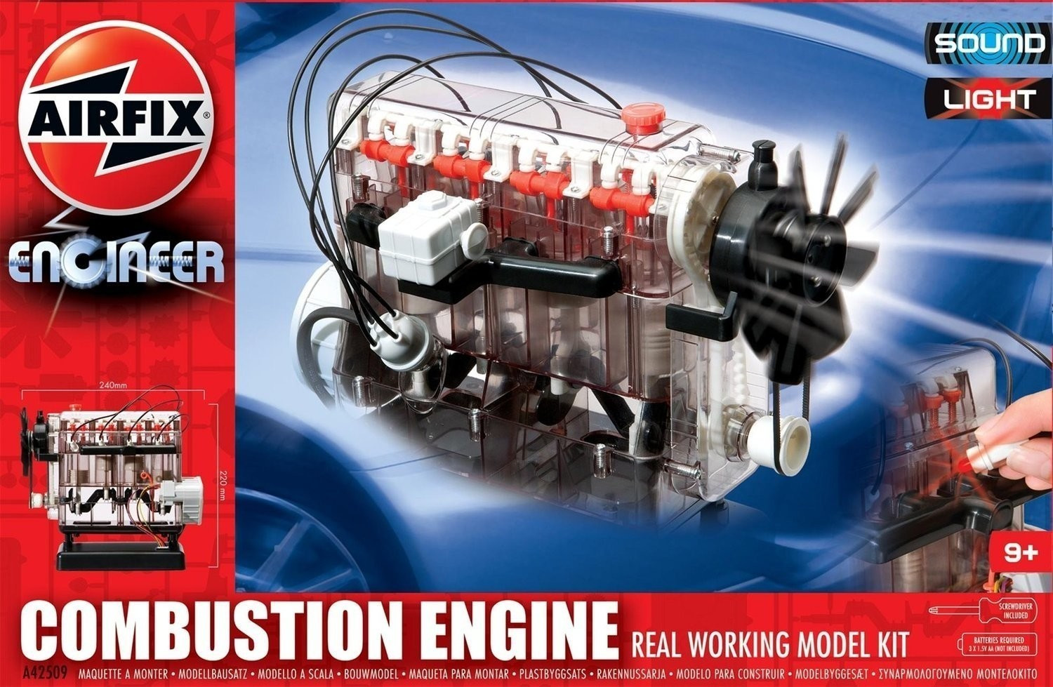 Airfix Engineer - Combustion Engine (A42509)