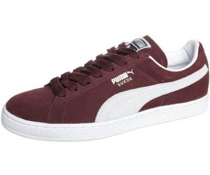 Puma Suede Classic cabernetwhite au meilleur prix sur